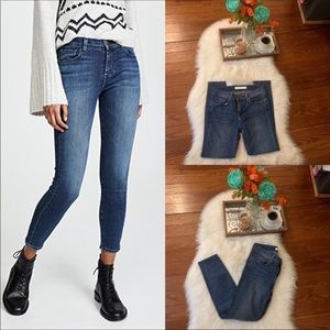 J. Brand mid rise skinny cropped jeans 27/4